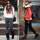 Women Tracksuit Sweatsuit Sweatpants Hoodie Sweatshirt Hooded Coat+ Pants DZ88