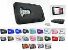 for LG Leon C40 & H320 | Armor TUFF Hard/Soft Protective Case Cover+PryTool
