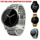 NEW Stainless Steel Smartwatch Watch Band Moto 360 2015 2nd Black Silver Gold
