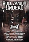 Hollywood Undead Day Of The Dead 2016 Uk Tour Photo Print Poster Slipknot 001