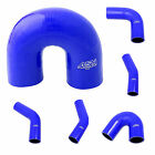 Auto Silicone Hoses Blue Rubber Elbow