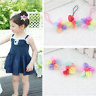 2/5/10 Pcs Kids Girls Hair Accessories Cute Flowers Hair Circle Hairpin W19