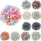 100PCS  Mixed Alphabet/Letter Acrylic Cube Spacer Loose Beads Jewelry DIY Making
