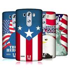 HEAD CASE DESIGNS AMERICAN PRIDE COVER RETRO RIGIDA PER LG TELEFONI 1
