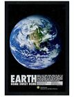 Smithsonian Institution Black Wooden Framed Earth Sweet Home Poster 61x91.5cm