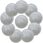 Lot of 10 - Incuse Indian Head 1 Troy Oz Silver Round - Highland Mint SKU35815