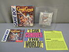 "Nintendo Game Boy ""GREAT GREED"" Complete *RARE* Game Cartridge w/ Box 1992"