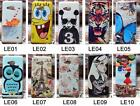 For Microsoft Nokia Lumia 550 N550 Hard Case Cover Cat Tower Fish Rose Tiger Owl