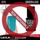 LAYLA GEL POLISH COLORE DA 001 A 060 SMALTO SEMIPERMANENTE LAYLAGEL UV UNGHIE
