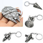 Star Wars Keyring Millenium Falcon Star Trek Airship Alloy Metal Keychain New