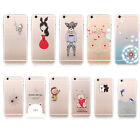 Slim Painted TPU Cute Back Soft Case Cover For iPhone 5S 6 4.7'' Plus 5.5'' COZ