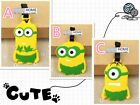 MINION Stuart Despicable Me Movie kid Travel Luggage Tag School Bag BOB Kevin