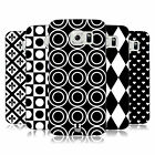HEAD CASE DESIGNS BLACK AND WHITE PATTERNS HARD BACK CASE FOR SAMSUNG PHONES 1