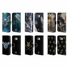 OFFICIAL ANNE STOKES OWLS LEATHER BOOK WALLET CASE COVER FOR SAMSUNG PHONES 1