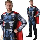 Mens Classic Thor Comic Book Week Superhero Fancy Dress Costume Adult Outfit