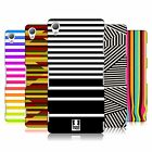 HEAD CASE DESIGNS DYNAMIC STRIPES HARD BACK CASE FOR SONY PHONES 1