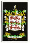 MCMAHON Family Coat of Arms Crest - Choice of Mount or Framed