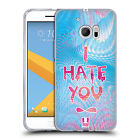 HEAD CASE DESIGNS HOLOGRAPHIC OVERLAYS SOFT GEL CASE FOR HTC PHONES 1