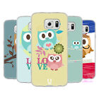 HEAD CASE DESIGNS KAWAII OWL SOFT GEL CASE FOR SAMSUNG PHONES 1