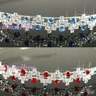 SALE Bridesmaid Prom Flower Girl Crystal Silver Plated Headband Tiara T1079b