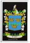 WARD Family Coat of Arms Crest - Choice of Mount or Framed