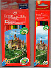 FABER CASTELL COLOURS ECOPENCILS 6/12/15/24/36/48 free selectable
