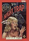 Sega CD Night Trap In Red Box Rare Hard To Find From Personal Collection!!!