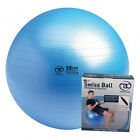 Swiss Ball Studio 300KG 55cm Fitness Mad Multi Exercise With Pump & DVD RP£29.99