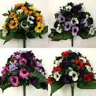 42cm Bunch Of Artificial Anemones *35 Heads Per Bunch* Artificial Flowers