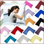 UK V SHAPED PILLOW CASE COVER PREGNANCY MATERNITY ORTHOPAEDIC SUPPORT NURSING
