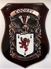 DIVER to DONOHOE Family Name Crest on HANDPAINTED PLAQUE - Coat of Arms