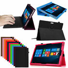 Exact Slim-Fit Magnetic Folio Stand Case Cover for Microsoft Surface 3 Pro 2/3/4