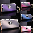 Fashion Lady Women Zip Clutch Long Purse Leather Wallet Card Holder Handbag Bags