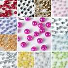 10 mm wide 1000 LOOSE BEADS FAUX PEARLS Party CENTERPIECES Crafts Vase Fillers