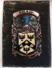 Handpainted COAT OF ARMS Crest Shield on SLATE - Diver to Donohoe