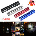 Mini 3W Super Bright LED Lamp With Clip Clamp AA Flashlight Focus Torch Light