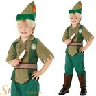 Boys Disney Peter Pan Neverland Book Week Fancy Dress Costume Child Kids Outfit