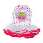 Dog Cat Bow Tutu Dress Lace Skirt Pet Puppy Dog Princess Costume Apparel Clothes