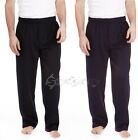 +MENS FLEECE JOGGING TRACK PANTS JOGGERS TRACKY PANT WARM JOG BOTTOMS GYM SWEATS