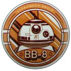 Star Wars Episode VII The Force Awakens BB-8 Badge