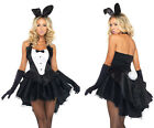 LEG AVENUE Tux & Tails Bunny Animal Sexy Fairytale Fancy Dress Costume 83951
