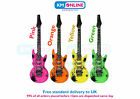 Inflatable Guitar 106cm Long Fancy Dress Party Music Jazz Hen Stag Fun X99113