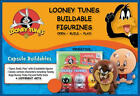 2 NEW LOONEY TUNES BUILDABLE BALL SET FIGURE CUP CAKE TOPPERS OPEN-BUILD-PLAY!