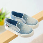 2016New Canvas School girl and boy's Children Slip-On Sneakers kids flat shoes