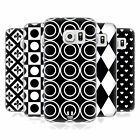 HEAD CASE DESIGNS BLACK AND WHITE PATTERNS SOFT GEL CASE FOR SAMSUNG GALAXY S7