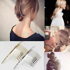 Long Bent Hair Pin Comb Slide Clip Women's Hair Styling Accessory