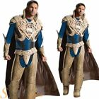 Mens Deluxe JOR-EL Man Of Steel Superman Superhero Fancy Dress Costume Outfit