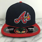 Atlanta Braves Alternate 59fifty MLB 100% Authentic New Era Fitted caps hats