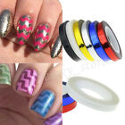 Rolls Striping Tape Line DIY 3D Nail Art Tips Decoration Sticker For Nail Polish