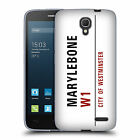 OFFICIAL LONDON STREET SIGNS 2 SOFT GEL CASE FOR ALCATEL PHONES 2